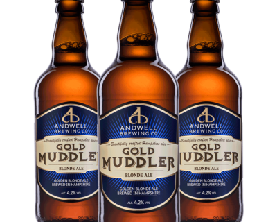 Gold Muddler 500ml x 12