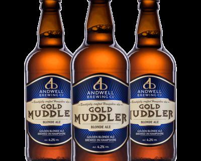 Gold Muddler 500ml x 12
