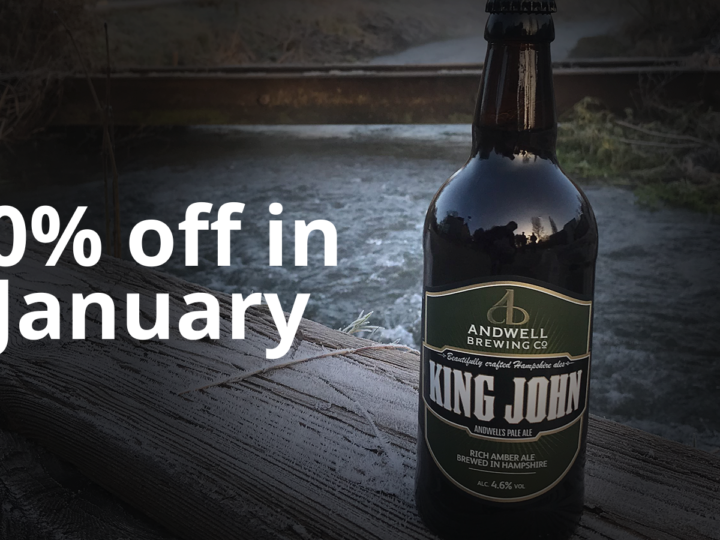 10% off throughout January
