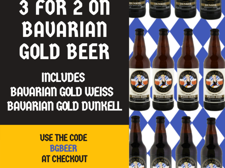 Bavarian Gold 3 for 2 offer continues…