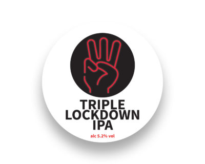 Limited Edition TRIPLE LOCKDOWN IPA 5.2%